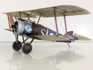 The iconic Sopwith Camel, the rebuilt version of which was to carry Davenant to his doom